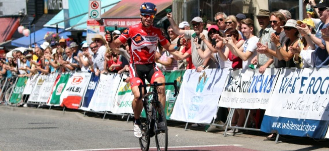 National Road Race Champion Zach Bell Wins Peace Arch News Road Race