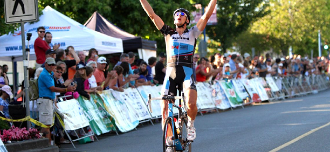 German National Team Member Tim Gebauer Claims Tour de White Rock Criterium
