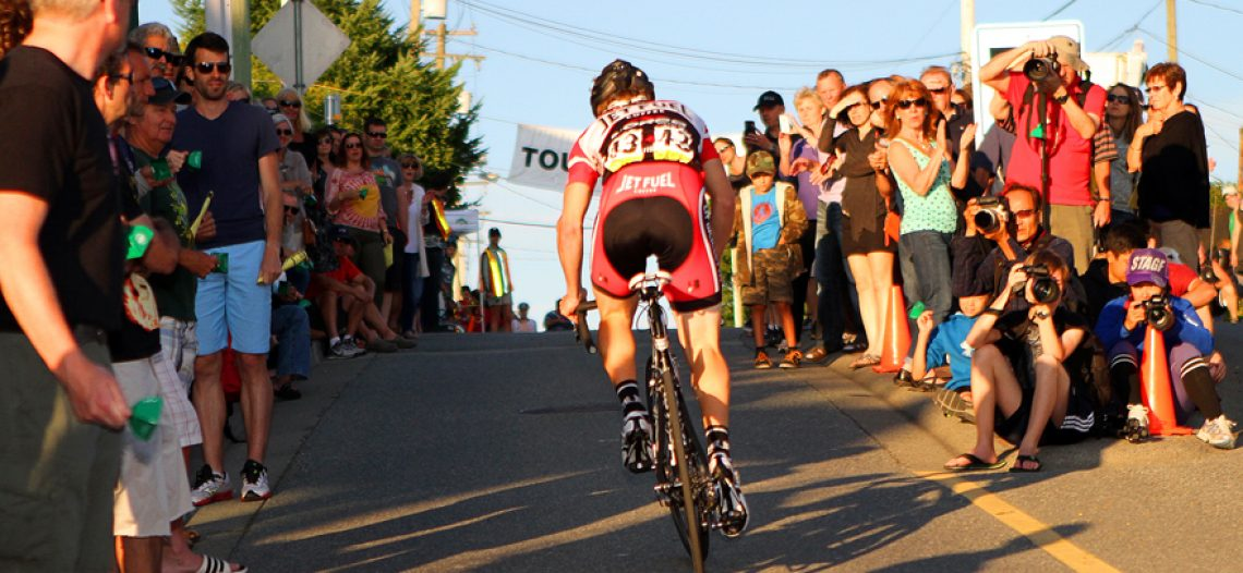 18-year-old Brandon Etzl Wins Homelife Realty Hill Climb to Open the Tour de White Rock