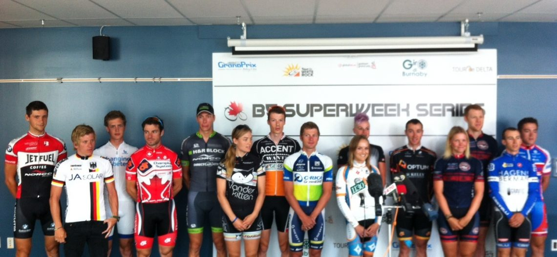 BC Superweek, Tour de White Rock, & UBC Grand Prix work to grow cycling in BC