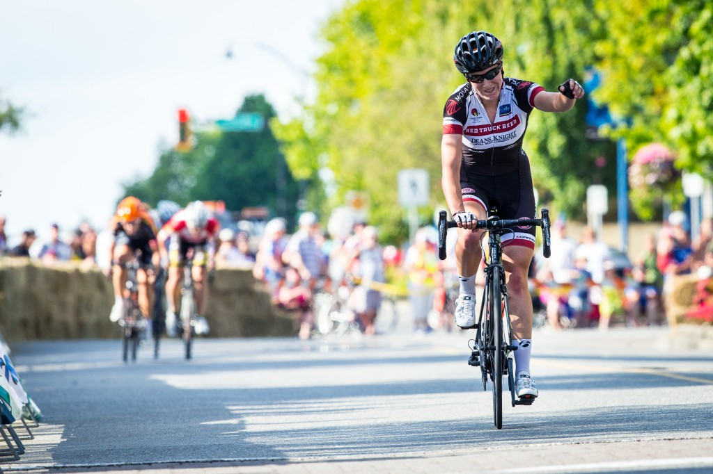 2013 Junior National Time Trial Champion Kinley Gibson Takes Women's Race