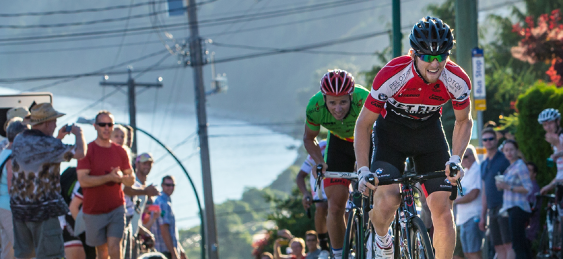 Brandon Etzl repeats as men's Homelife Realty Hill Climb winner at Tour de White Rock