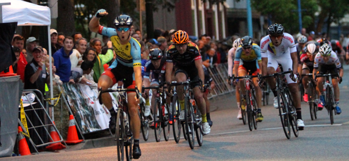 Shane Kline winds Tour De Delta Brenco Criterium; has two podium finishes at BC Superweek