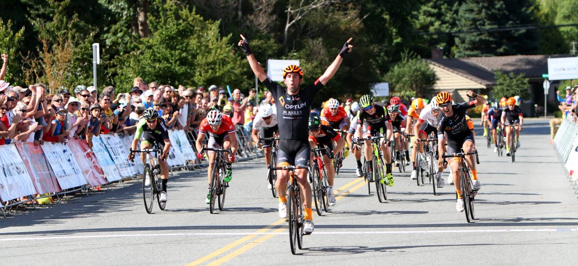 Eric Young returns to BC Superweek & wins White Spot | Delta Road Race