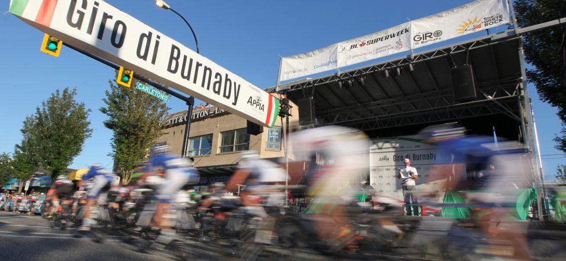 Community Spirit Shines for Giro di Burnaby & BC Superweek