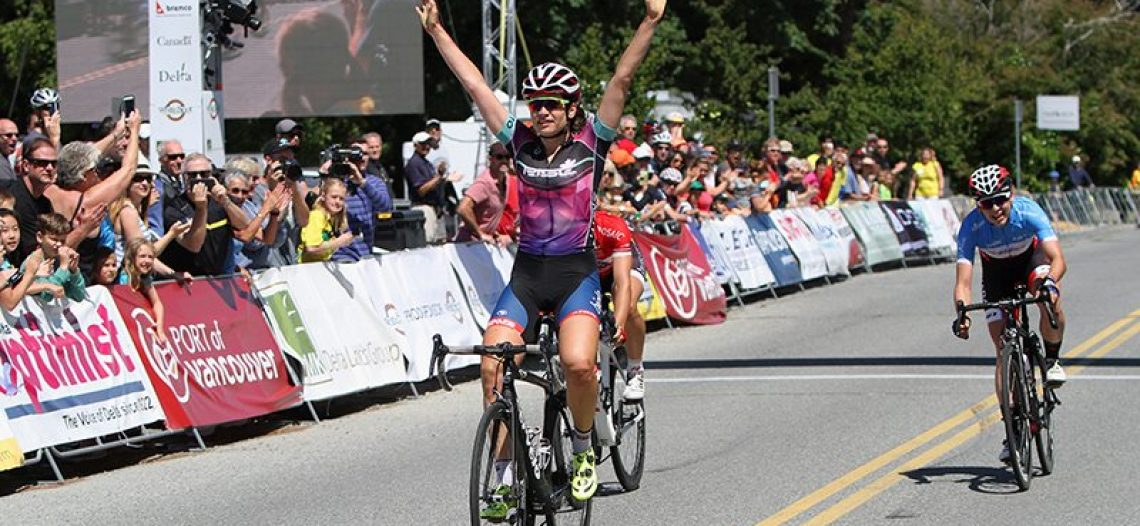 Quebec rider Joelle Numainville claims third straight Tour de Delta Title
