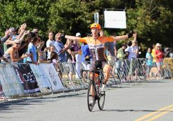 Former Canadian National Road Race Champion Ryan Roth wins White Spot | Delta Road Race