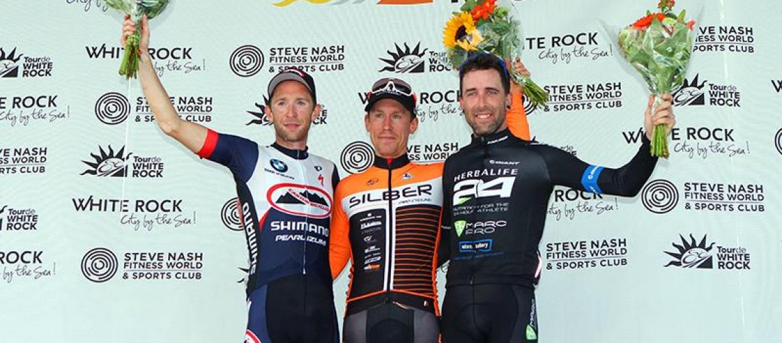 2016 Canadian National time trial champion Ryan Roth wins Peace Arch News Road Race