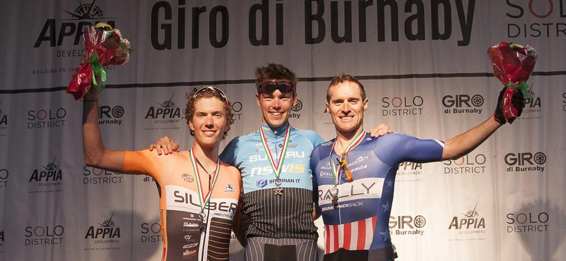 Third Generation Cyclist Scott Law Wins 2016 Giro di Burnaby