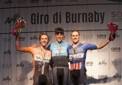 Third Generation Cyclist Scott Law Wins 2016 Giro di Burnaby