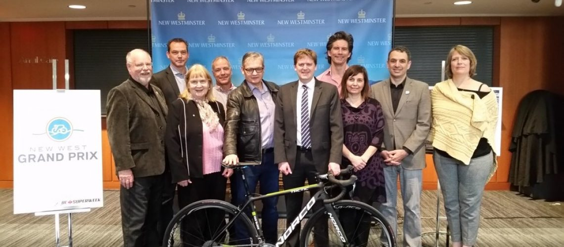 City of New Westminster Joins BC Superweek Cycling Series
