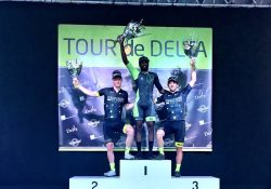 American Justin Williams Wins Ladner Criterium on Canadian Olympian's Borrowed Bike