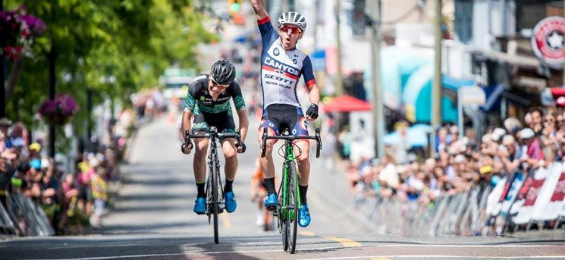 Bellingham's Steve Fisher Claims Peace Arch News Road Race Title
