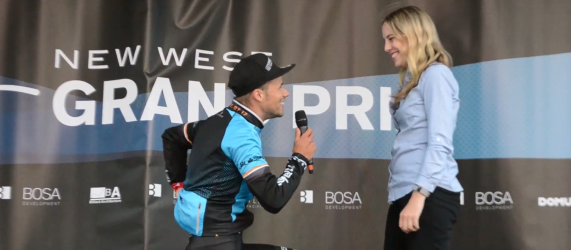 Florenz Knauer Steals the Show at the Inaugural New West Grand Prix