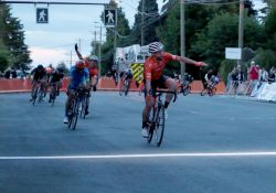 Eric Young goes back-to-back at Tour de Delta North Delta Criterium