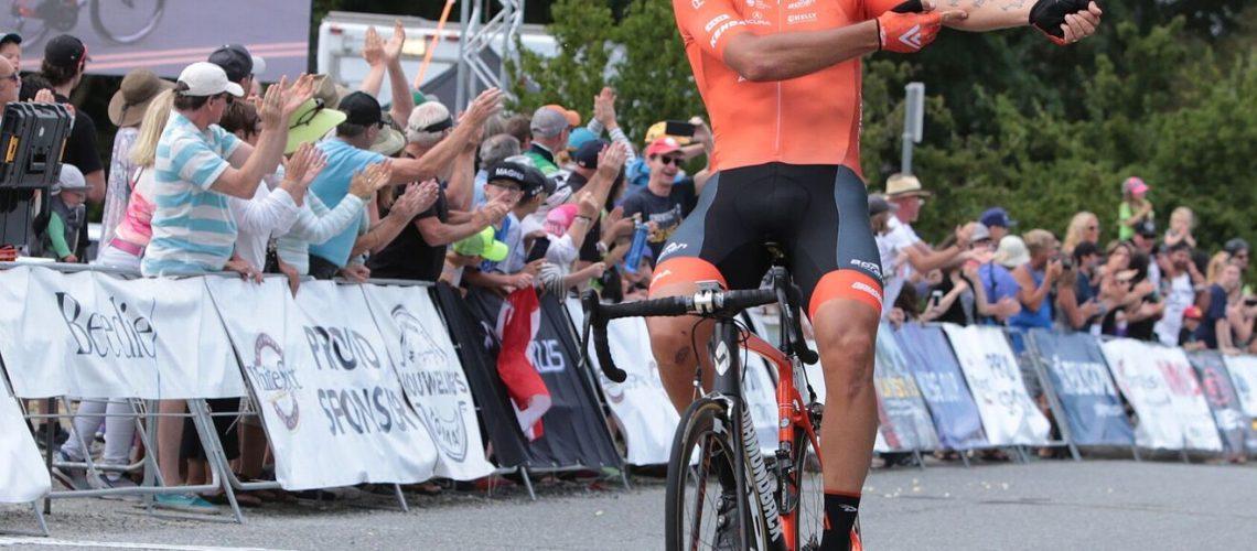 Victoria's Adam de Vos wins Tour de Delta White Spot | Delta Road Race