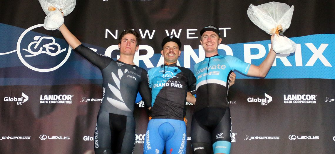 Florenz Knauer is a three-time Champion at New West Grand Prix