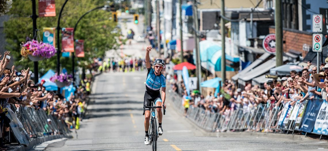Kelowna's Jordan Cheyne crowned Champion at Westminster Savings Road Race at Tour de White Rock presented by Landmark Premiere Properties